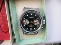 Poljot Buran Model manual wind mechanical chronograph wristwatch - Russia 3133- '00 -New old stock