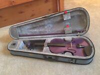 Purple 4/4 Stentor Violin