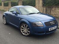 Audi TT Qauttro, Blue, 1.8 petrol, 92000 miles, 9 Months MOT, spare as repair