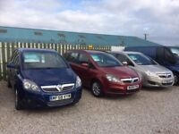 Vauxhall Zafira **Cornish Car Sales - 3 available**