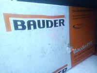 Bauder PIR Foil backed Insulation.