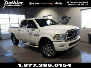 2018 Ram 3500 Longhorn | DIESEL | PARK ASSIST | HEATED SEATS |