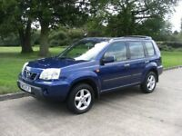 nissan x trail 2.2 TD 4x4 four wheel drive , runs and drives perfect , mot till may 2018