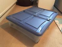 Large underbed storage box