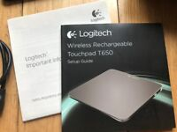 Logitech t650 Wireless Rechargable Touchpad