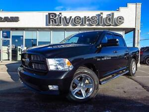 2012 Ram 1500 Sport Crew Cab w/ Back Up Camera!