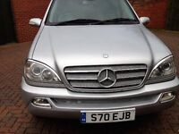 Mercedes ML 2.7 Dieslel~ Very Tidy Car ~ Full Service History ~ New Car Forces Sale
