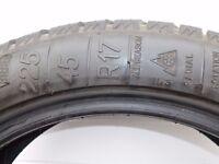 A winter tyres, part worn, ca 5mm tread. Kleber Quadraxer 225/45 R 17. Good in snow and rain