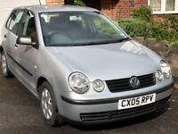 VW Polo Twist, 2005, 76000 miles, 1.2L, 9mnths MOT, 5 dr, Silver