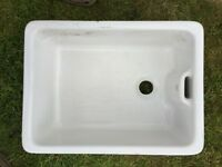 Belfast Sink made by Royal Doulton measures 60cm lenght, 45cm width, 26cm height ideal planter