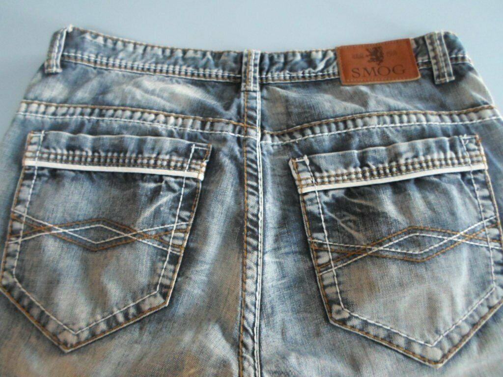 Super SMOG MENS BLUE JEANS 36 w 32 l. EXCELLENT CONDITION | in ZM-52