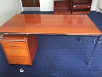 Office furnitures to include desks,drawers, chair and cupboard