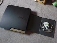 Sony Slim PS3 (320GB) With MW3 / Very Good Condition / Pick up from north london