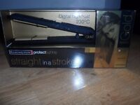 New in Box Remington Gold Protect & Shine Straighteners with 230 degrees high heat