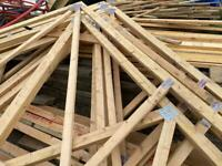 Timber / building roof trusses
