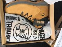 Apache steel toe cap work boots size 12 Rep £65