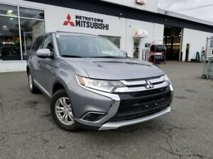 2016 Mitsubishi Outlander ES 4WD; No accidents!