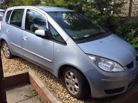2006 Mitsubishi Colt 1.5 Diesel 72721 miles Tow bar with full electrics - Needs discs and pads.