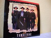 Tombstone. NTSC laserdisc. Deluxe widescreen director's edition.