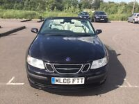 Saab 9-3 2L Vector Turbo Convertible, Automatic, Low Mileage