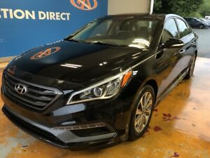 2015 Hyundai Sonata Sport LEATHER! NAVI! HUGE PANO SUNROOF!