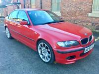 2003 Bmw 325i M Sport Automatic Facelift. Imola Red Low Miles.
