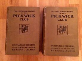 Charles Dickens: The Pickwick Papers (1910 Illustrated Edition, 2 Volumes)