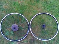 26 inch mountain bike wheelset - scott Wheel set