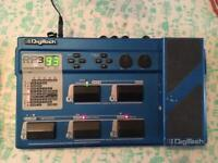 Digitech RP3 multi effects pedal for guitar.
