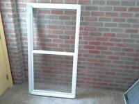 fenêtre à guillotine pvc 32 x 60