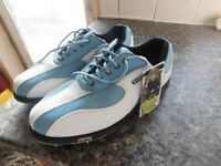 LADIES GOLF SHOES BRAND NEW SIZE 4.5 LEATHER WATERPROOF