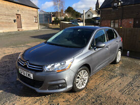 2011 Citroen C4 1.6 HDi 16v VTR+ 5dr. Metallic Grey. Very good condition.