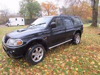 Mitsubishi Shogun Manual 2.5 l Diesel Black very good condition.