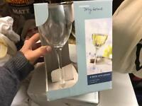 12 Woolworths wine glasses