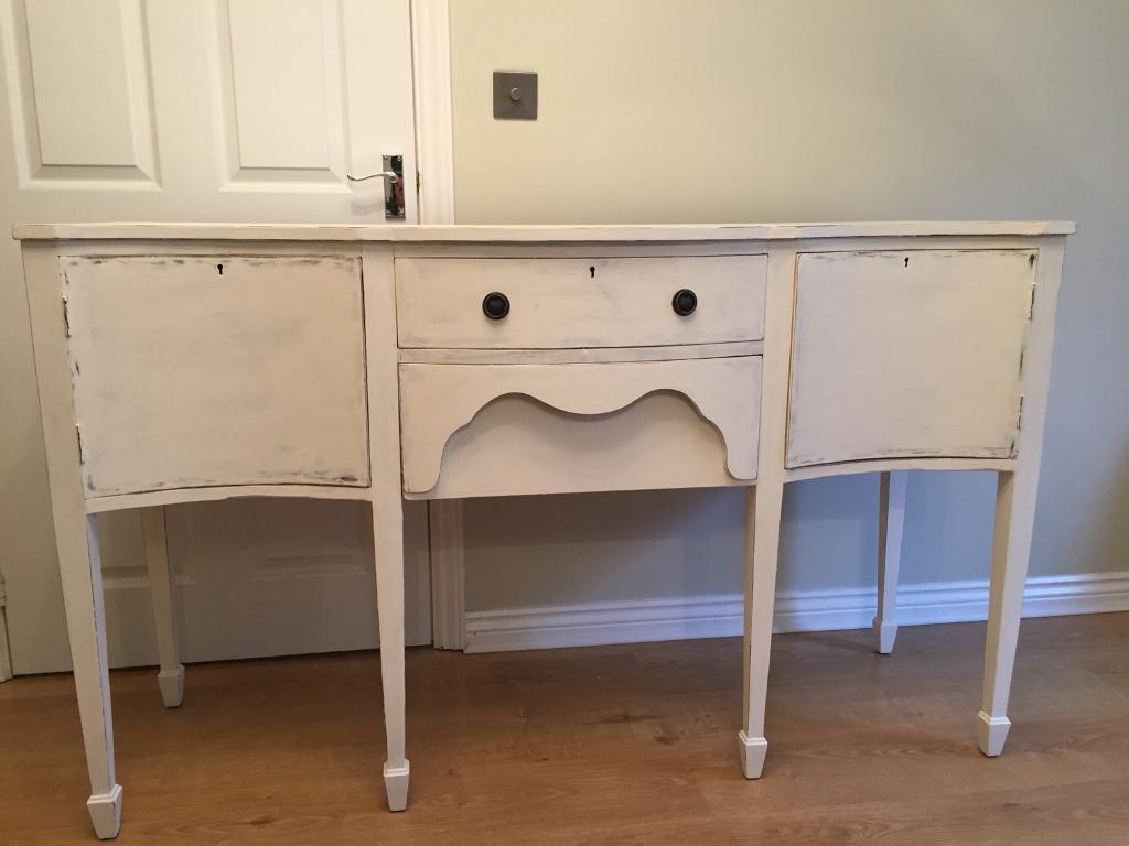 French Style Shabby Chic Dressing Table