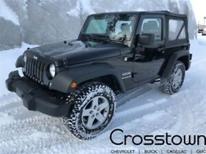 2016 Jeep Wrangler Sport/ 4WD/ Rollover Protection Bars/