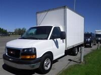 2013 GMC Savana 12 Ft Cube Van