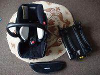 Recaro Young Profi Plus Car Seat with ISO-fix Base