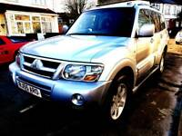 Mitsubishi Shogun warrior 2005 Automatic diesel full service history 7 seater Mint condition