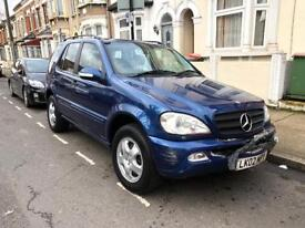 Mercedes ml270 CDi auto 4 matic low miles