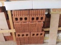 Unused building bricks