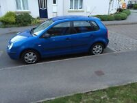 Volkswagen polo twist blue