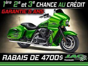 2015 Kawasaki Vulcan 1700 Vaquero ABS SE 42.85$ par semaine