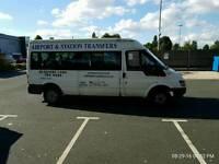 15 seater minibus ford transit tddi 350 lwb