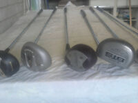 Maxfli & Browning clubs x 10 drivers , x 20 putters £45