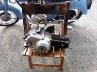 HONDA C90 engine.ELECTRIC START 1989 .