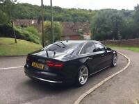 2012 AUDI A8 SE EXEC TDI QUATTRO 8 SPEED AUTO BLACK REMAPPED FSH