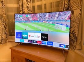 """SAMSUNG CURVED 49"""" QLED (QUANTUM DOT) 4K SUPER ULTRA HD SMART TV,EXCELLENT CONDITION,FULL WORKING"""