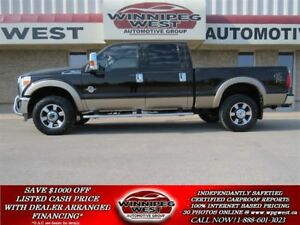2014 Ford F-350 LARIAT POWERSTROKE, LOADED,LOW KMS LOCAL TRADE!