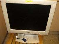 Philips flat screen computer monitor